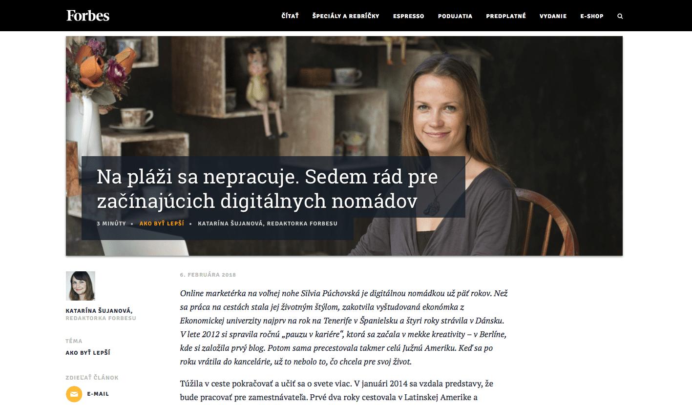 Forbes_Silvia Púchovská